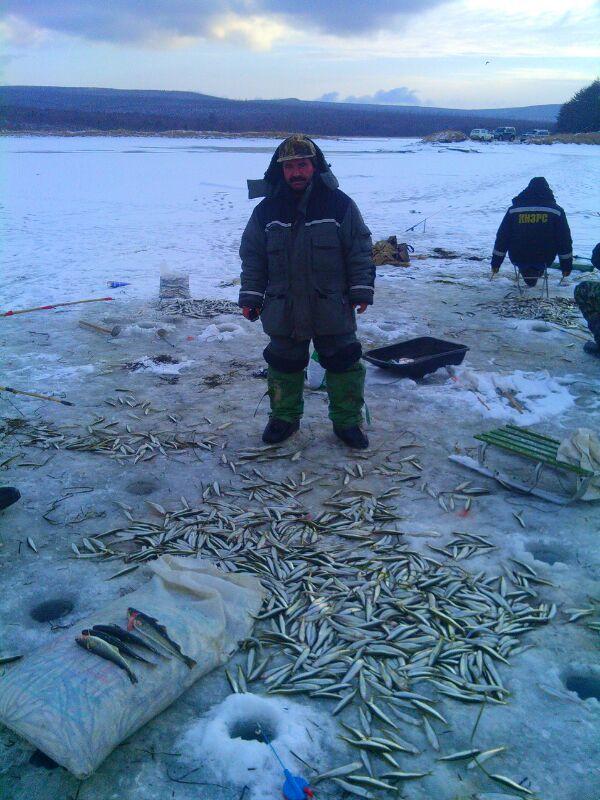 рыбалка в де-кастри
