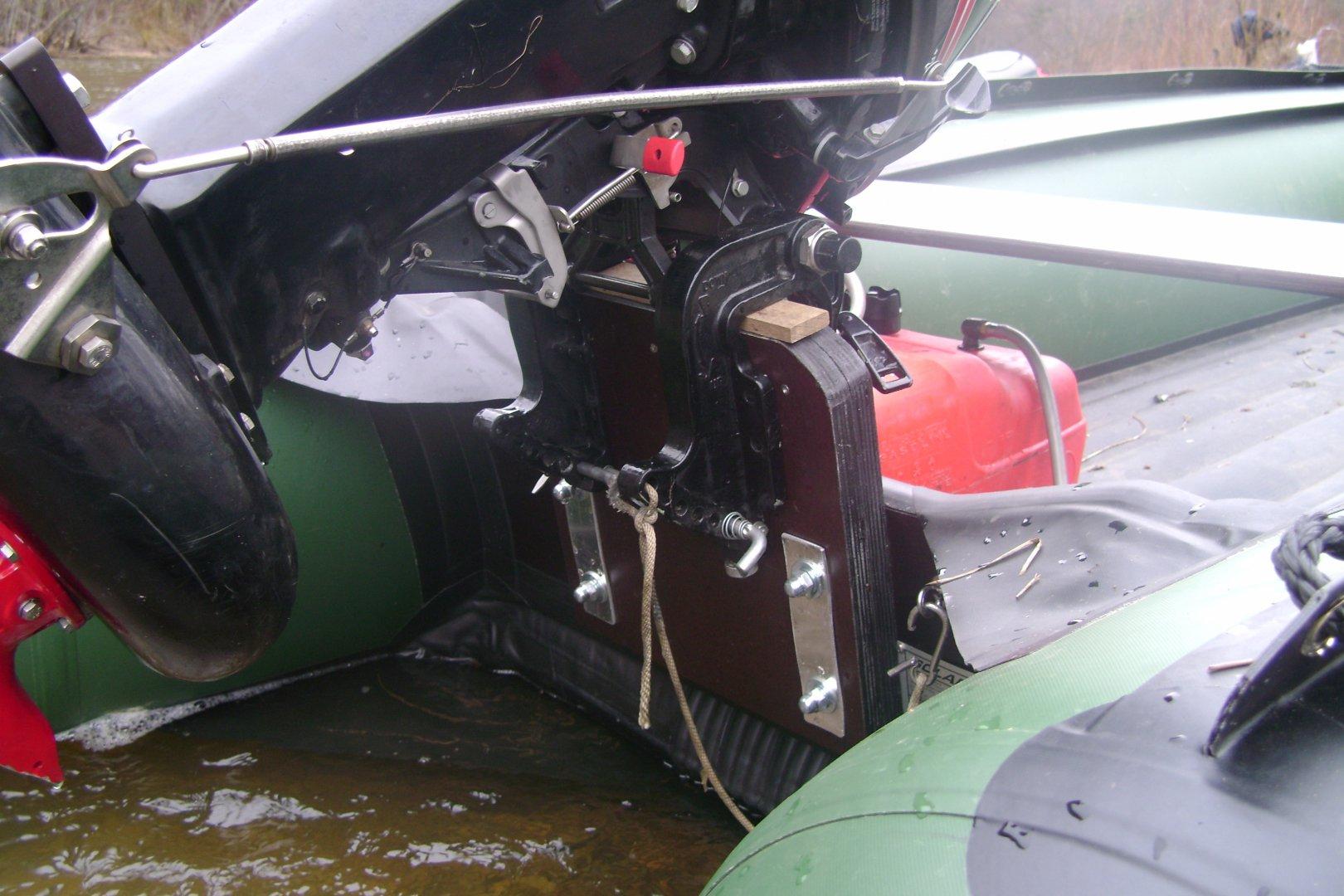 Транец на лодку своими руками 65