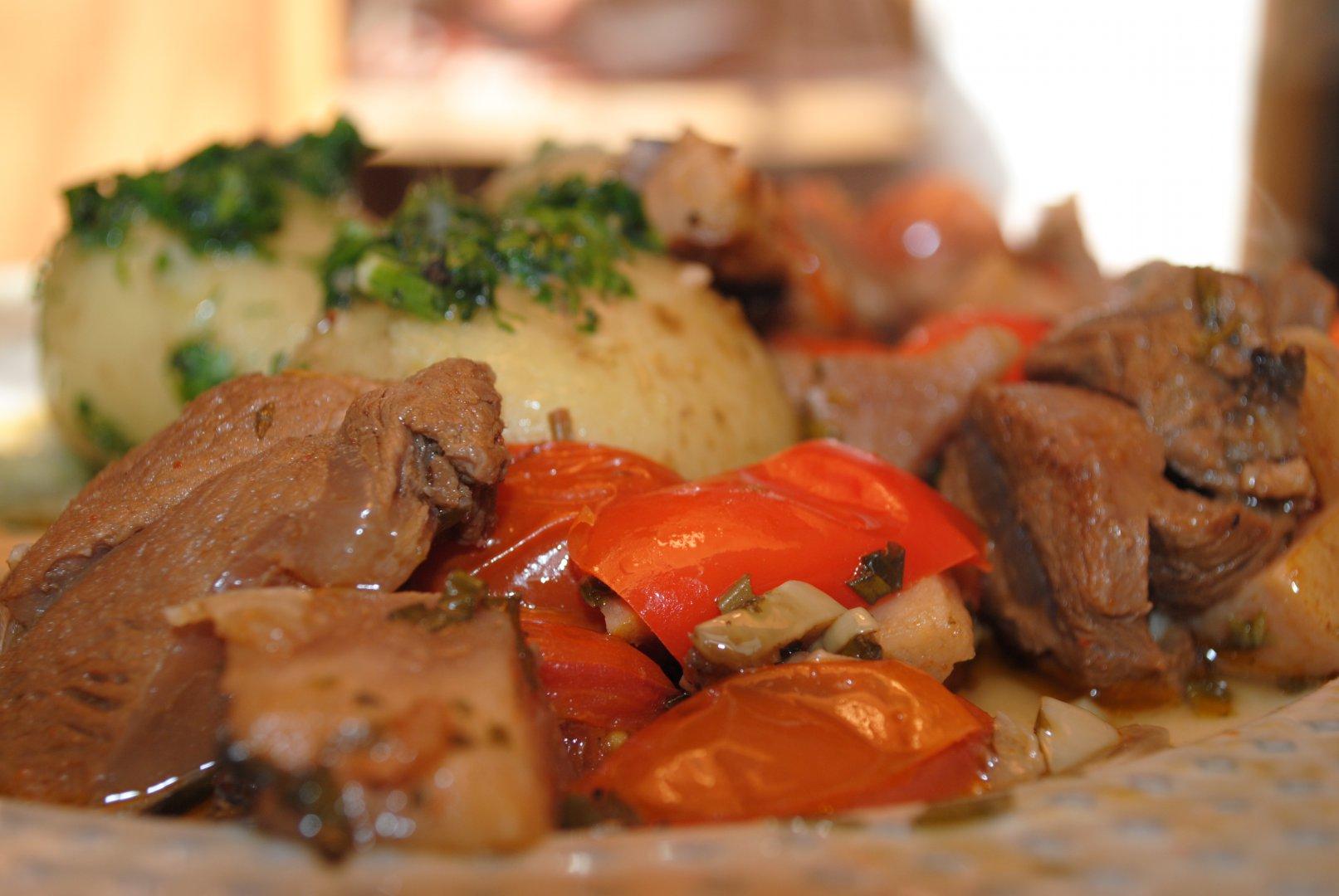 Блюда из тушеной баранины рецепты