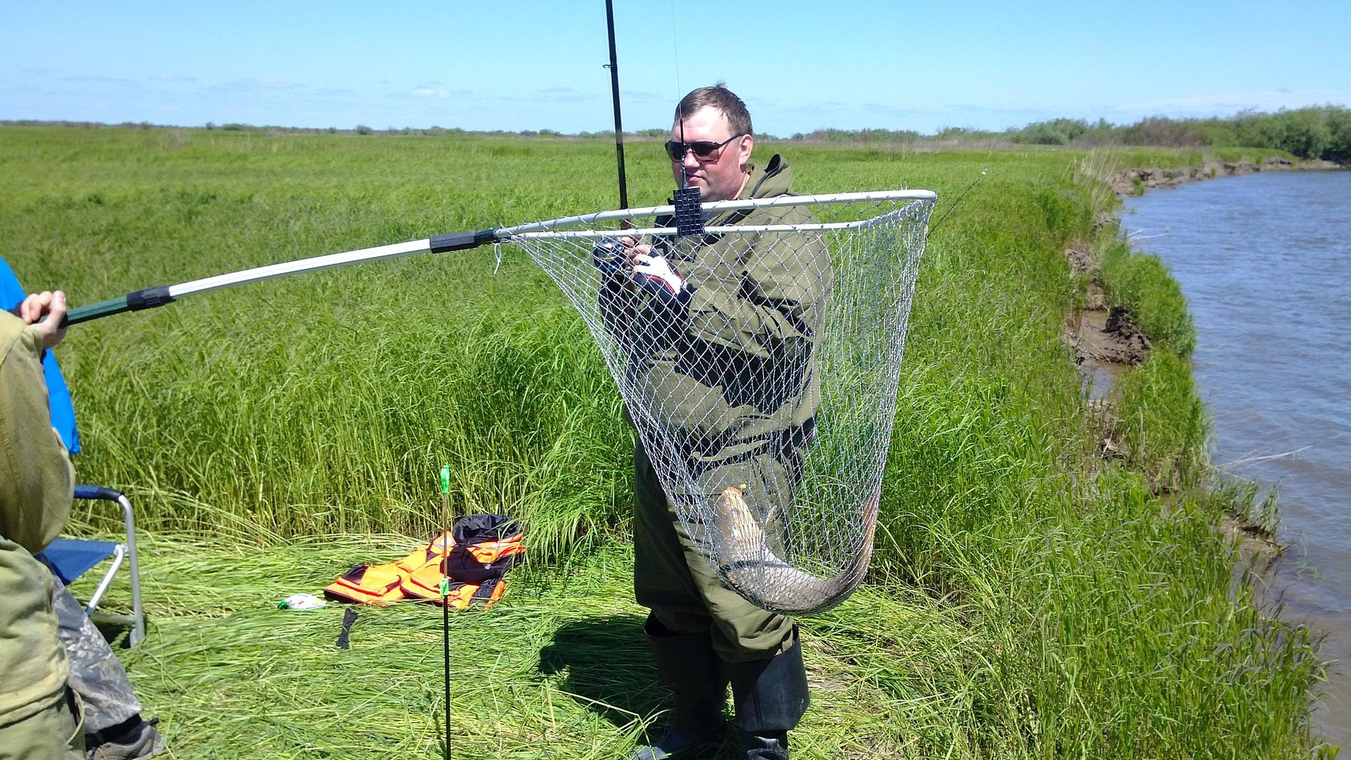 места для рыбалки в запорожской области