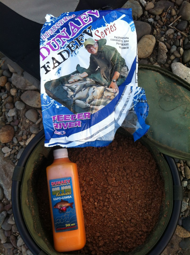рыболовные прикормки из каши