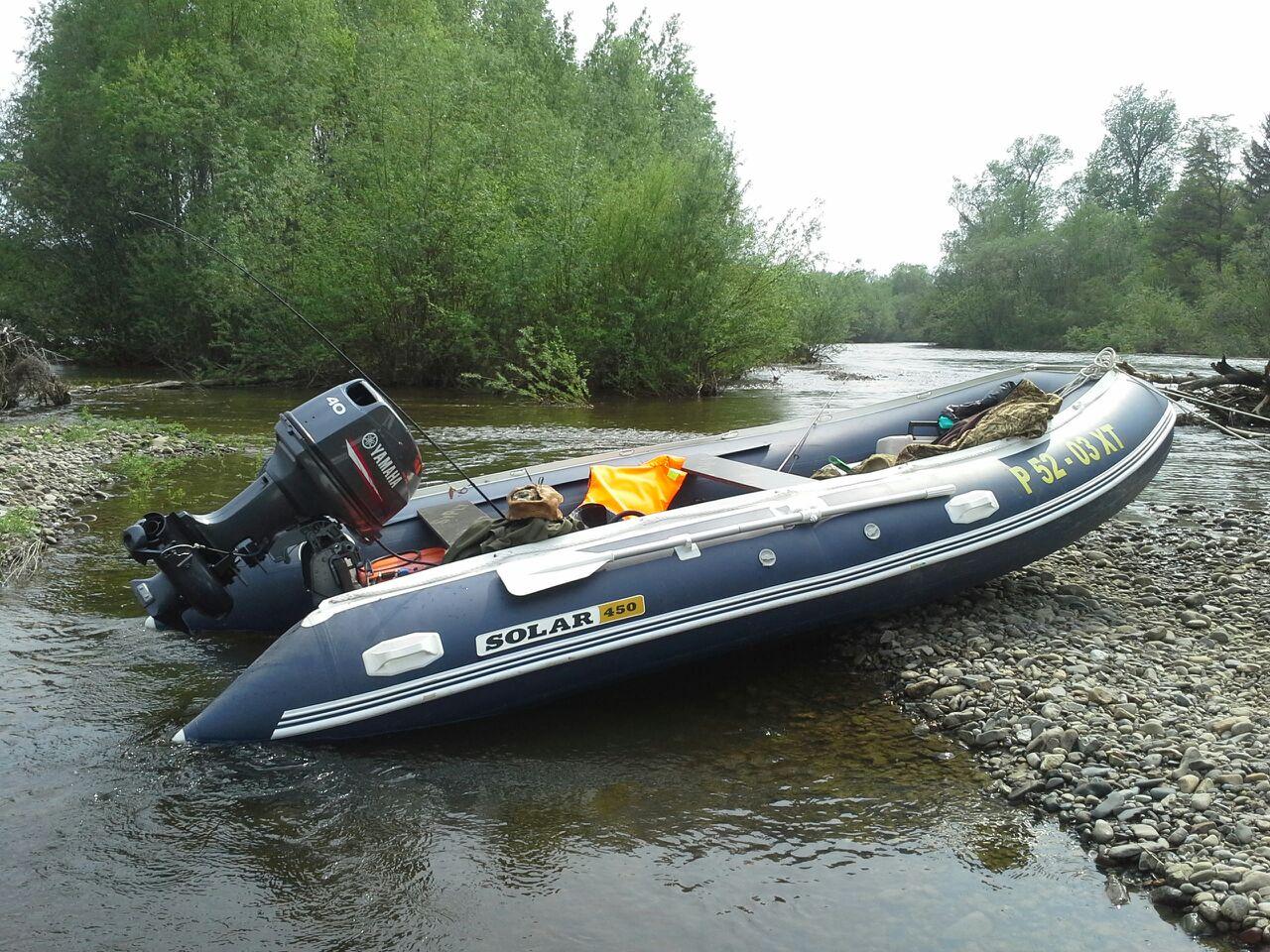 мотор с водометом на надувные лодки