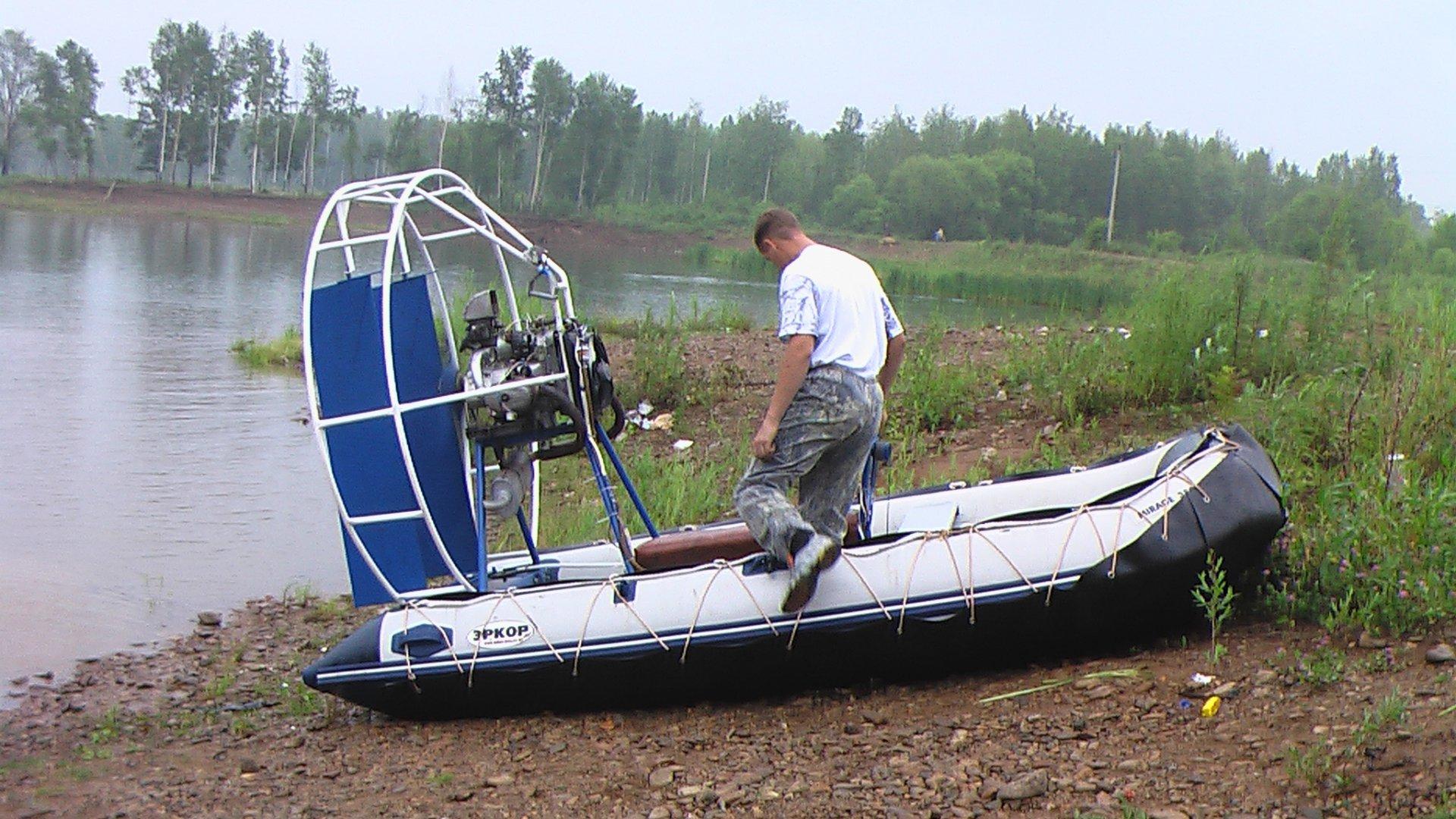 на рыбалку на самодельных вездеходах