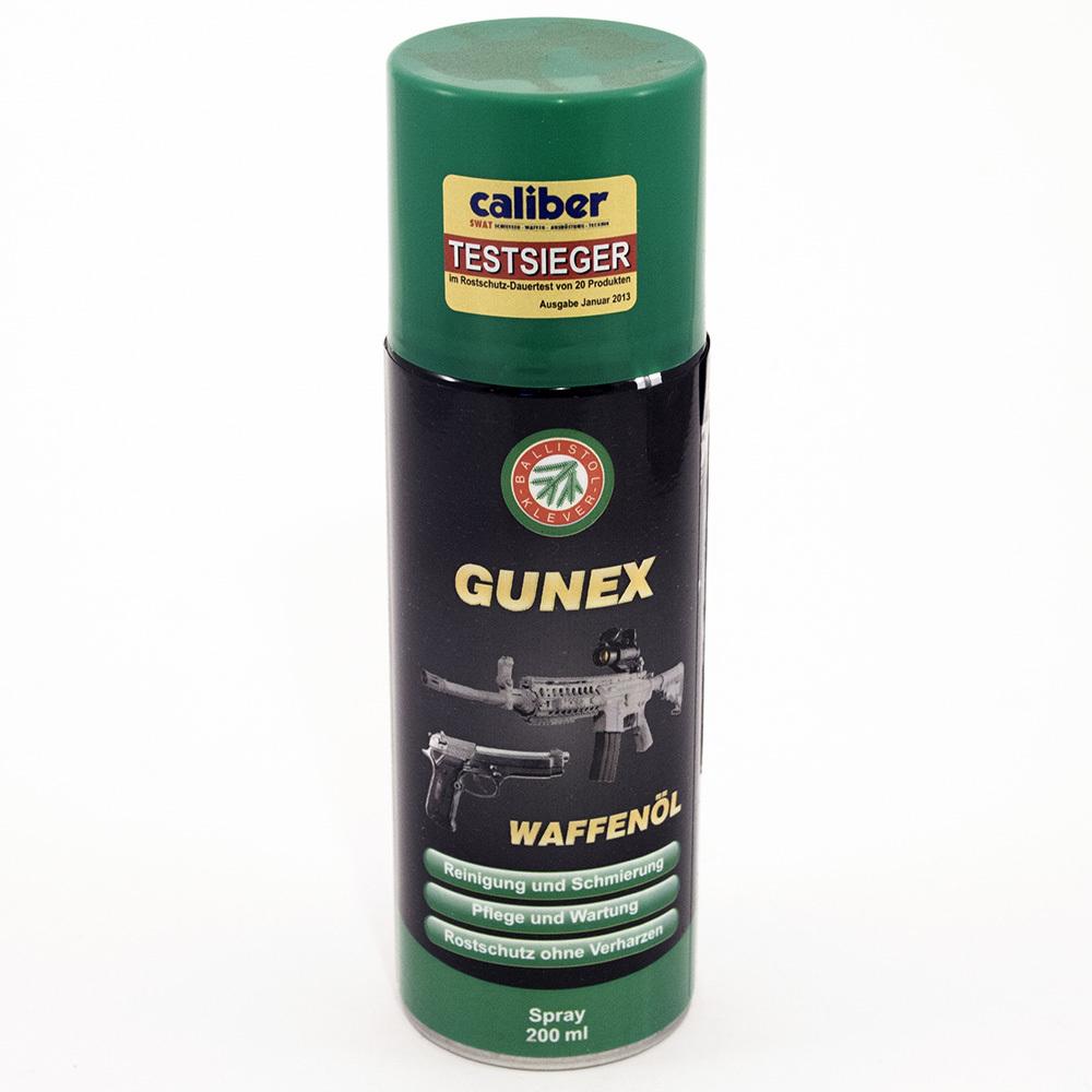 Масло оружейное Gunex 2000 спрей  200 мл.jpg