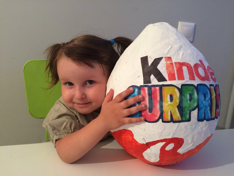 Как сделать яйцо сюрприз из бумаги