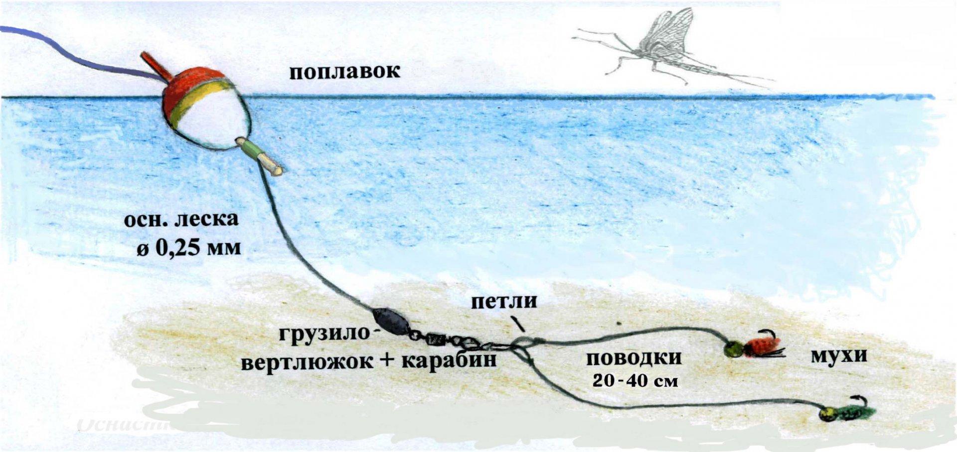 Как сделать дальнюю снасть с поплавком