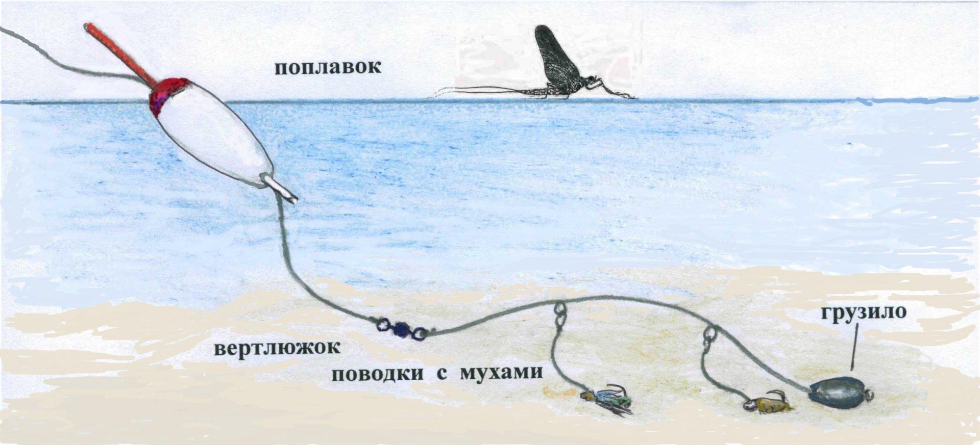 скользящий груз в поплавочной ловле