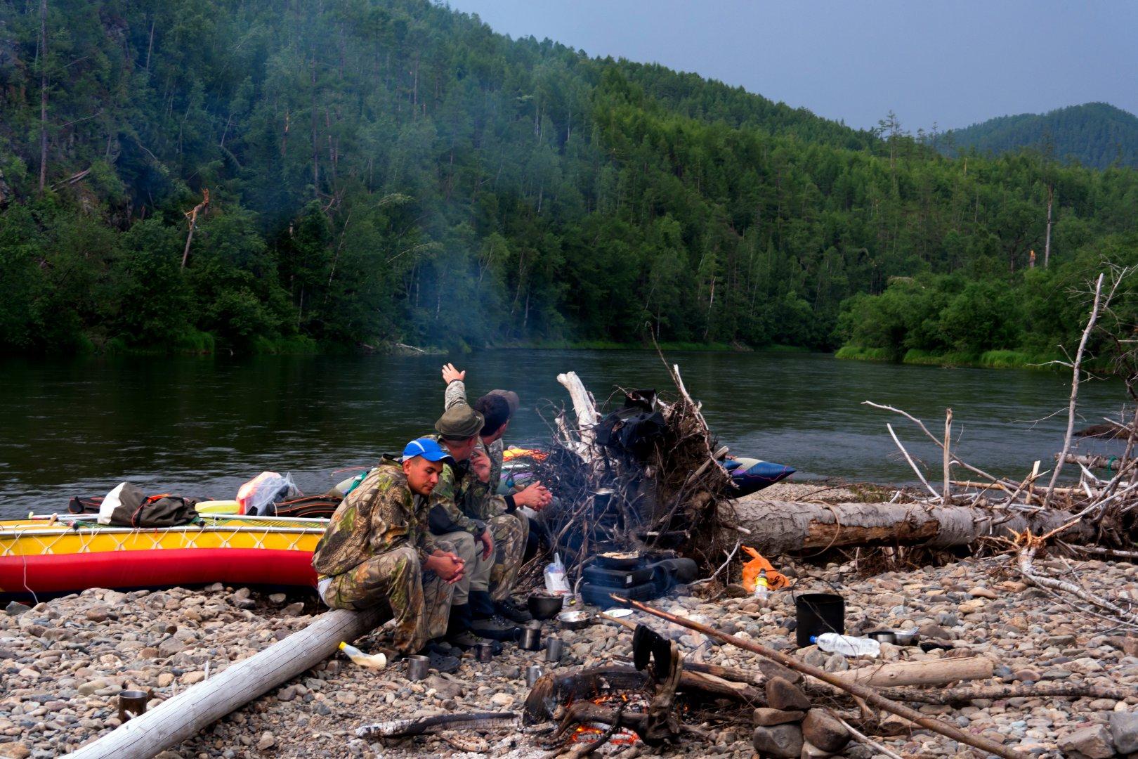 Сплав по реке с рыбалкой отчет