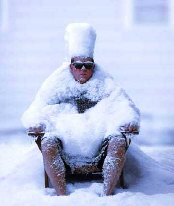 К чему снится замерзший человек