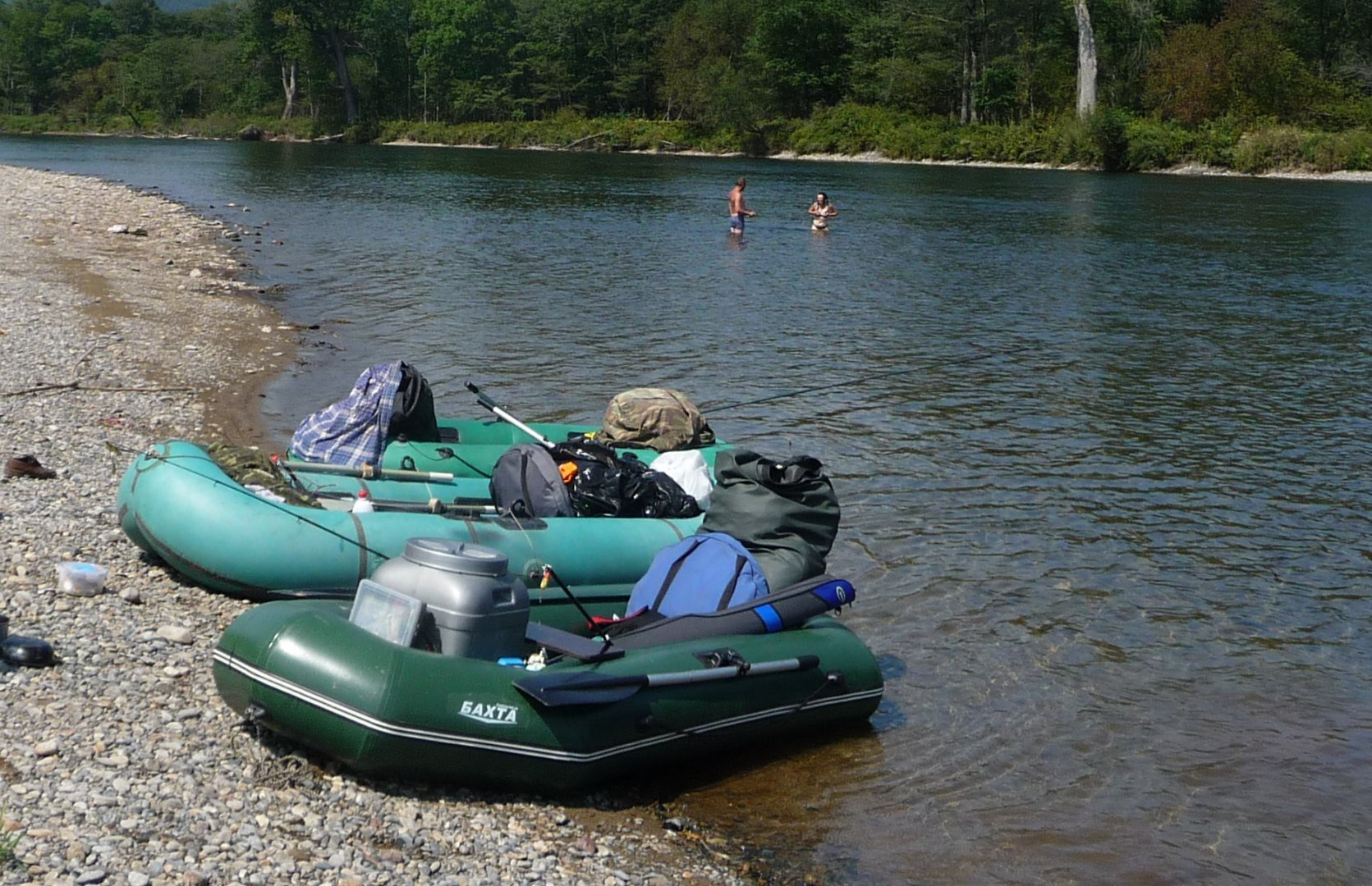 выбор лодки пвх для сплава