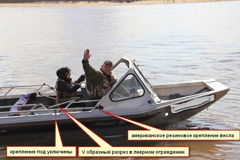 фиксаторы на весла для резиновой лодки